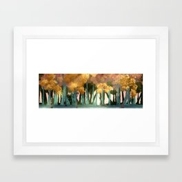 Autumn Woods Framed Art Print