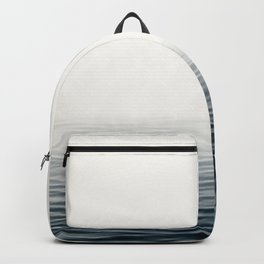 Misty Sea I - Abstract Waterscape Backpack