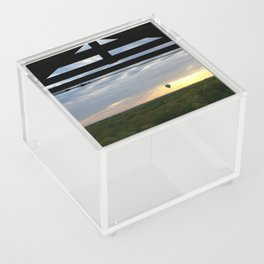 Two Adventures at Sunset Acrylic Box