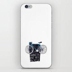 My Bicycle iPhone & iPod Skin