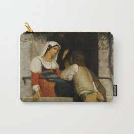 """William-Adolphe Bouguereau """"Italian lovers"""" Carry-All Pouch"""