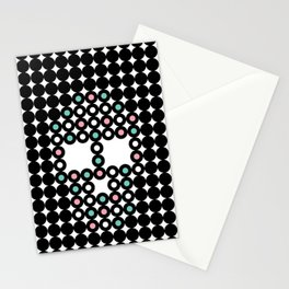 Retro Skull #4 Stationery Cards