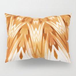 Mandala Art White Boho Pillow Sham
