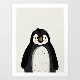 Penguin Print Art Print