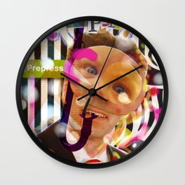 Climate Change Party - Your Delegate Mr. H. Edge Fond Wall Clock