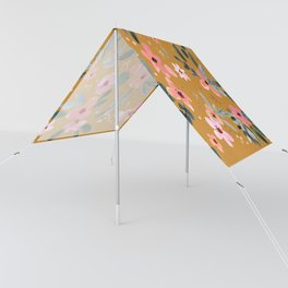 Fawn Floral Copper Orange Sun Shade