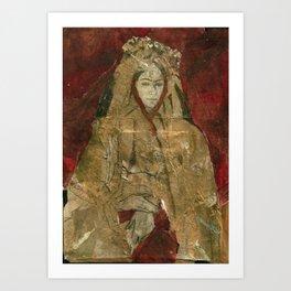 Hommage à Frida Kahlo V Art Print