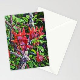 Hanging Fuchsia Stationery Cards