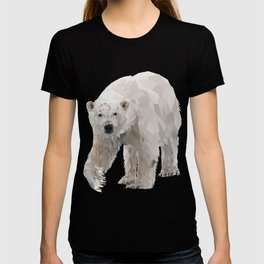Geometric Polar Bear T-shirt