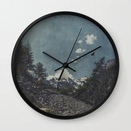 Hike a Mountain! Wall Clock