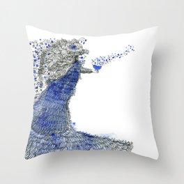 Spreading love Throw Pillow