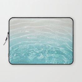 Soft Blue Gray Ocean Dream #1 #water #decor #art #society6 Laptop Sleeve