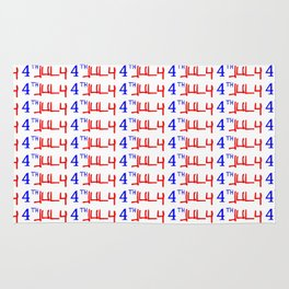 4 july -america,us,united states,american,new york,hollywood,spangled,banner,star and strip,4th july Rug