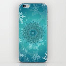 Ice Mandala iPhone Skin
