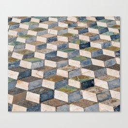 Pompeii Floor Canvas Print