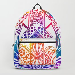 Hamsa Splatter Backpack