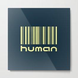 The Human ID Metal Print