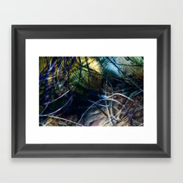 Tangled Web Framed Art Print