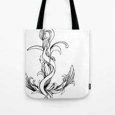 Anchor (outline) Tote Bag