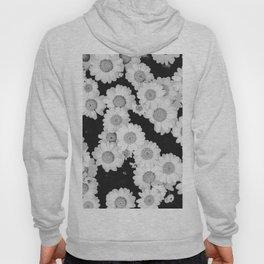 The Daisy Garden (Black and White) Hoody