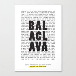 Balaclava Canvas Print