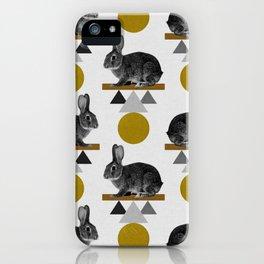 Tribal Rabbit iPhone Case