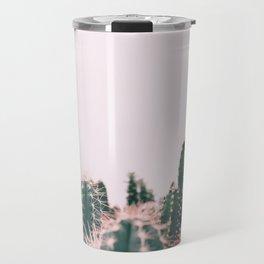 Pink Blush Cactus Travel Mug