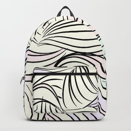Contemporary cartoon pattern Backpack