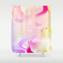 Abstract 002 Shower Curtain