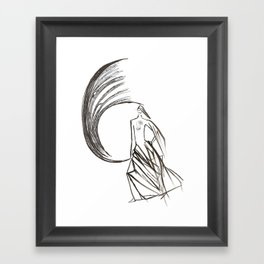Angel under cover (home photo) Framed Art Print