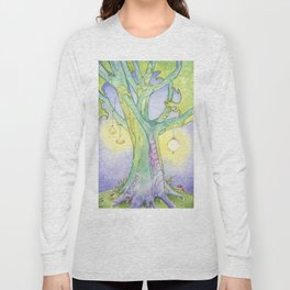 Evening Tree Sprites Long Sleeve T-shirt