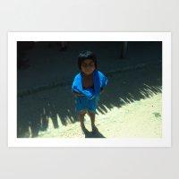niña guajira  Art Print