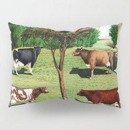 Typical Cows Pillow Sham