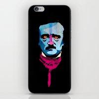 poe iPhone & iPod Skins featuring Poe by Alvaro Tapia Hidalgo