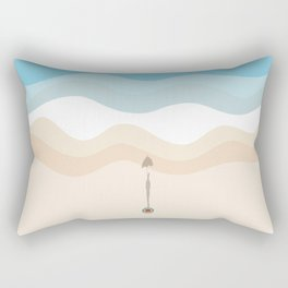 Under The Umbrella  Rectangular Pillow