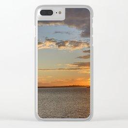 Sunset at La Perouse, Sydney, Australia Clear iPhone Case
