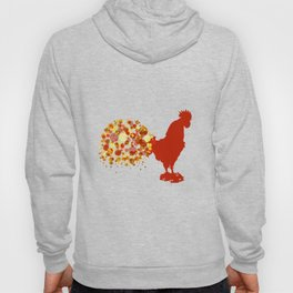 Chinese Lunar New Year Of The Rooster Zodiac Animal 2017 Hoody