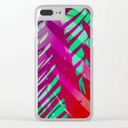 Hot Tropicana Clear iPhone Case