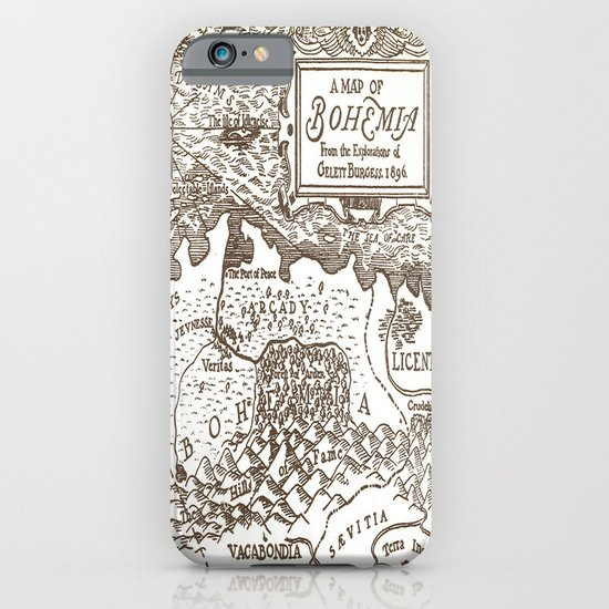 Map of Bohemia iPhone & iPod Case