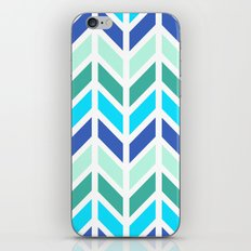 SPRING CHEVRON 2 iPhone & iPod Skin