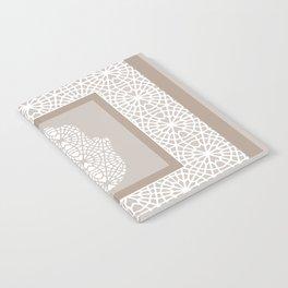 Hamsa in morrocan pattern Notebook