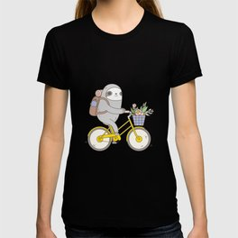 Biking Sloth T-shirt