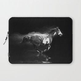 Galloping Pinto Horse Laptop Sleeve