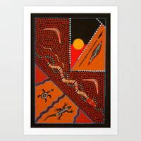 Hunting Grounds Part 2 Art Print
