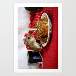 Birthday Mouse! Art Print