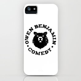 Owen Benjamin Comedy iPhone Case
