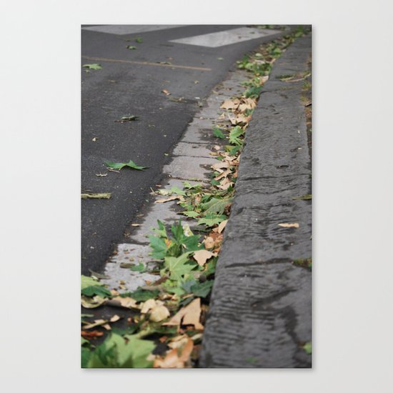 Italy Curb Canvas Print