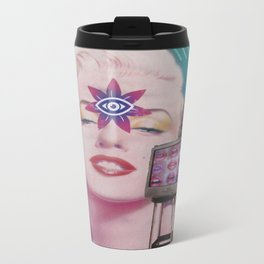 They See Me On The TV Travel Mug