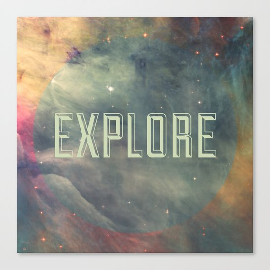 Explore III Canvas Print