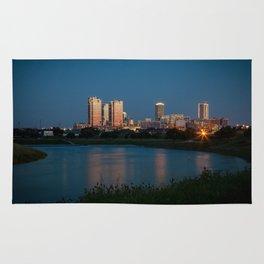Fort Worth, Texas Rug